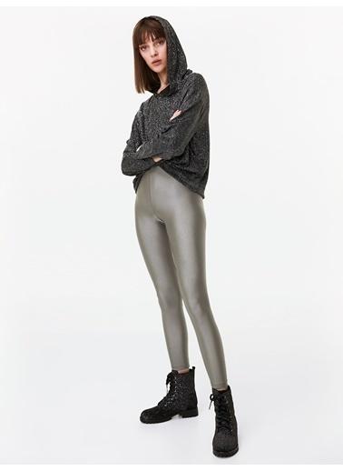 Twist Pantolon Gümüş
